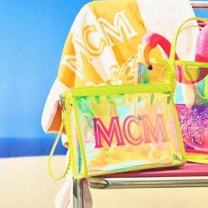MCM 新款包包服饰配饰抢鲜热卖 $627收双肩包
