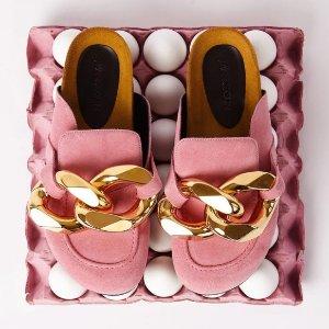 独家9折 实体店等你来JW Anderson 新款独家大促 收爆款链条拖鞋、帽子包包