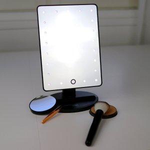 $13.59 (原价$19.93)闪购:Absolutely Lush LED灯光化妆镜   带可拆卸10倍放大镜