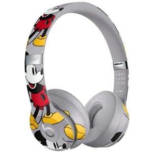 $224.99 (原价$299.99)Beats Solo3 无线蓝牙耳机 米奇90周年限量版
