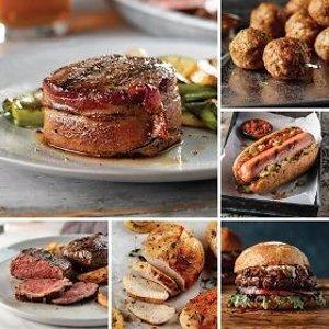 Omaha Steaks培根包菲力牛排、小酒馆牛排等组合套餐