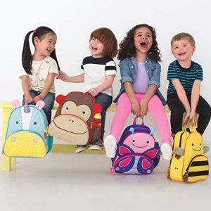低至$10.29+包邮Skip Hop Zoo 超可爱儿童动物背包、午餐包 多款可选
