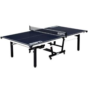 $290网络周一: ESPN官方尺寸可折叠式乒乓球桌 带收纳套