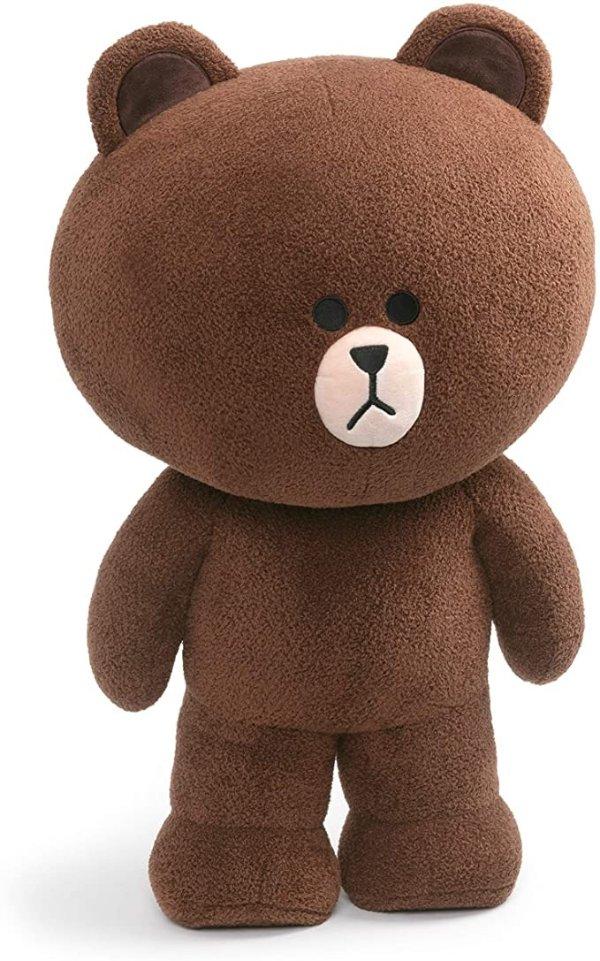 """GUND Line Friends 超大站立布朗熊 23"""""""