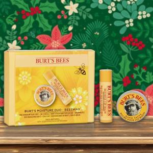无门槛8.5折Burts Bees 英伦小蜜蜂护肤热促 成分天然平价好用