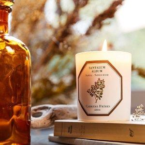无门槛7.8折!£35收香氛蜡烛!Carriere Freres 法国植物学家香氛蜡烛大促!宅家也要仪式感!!