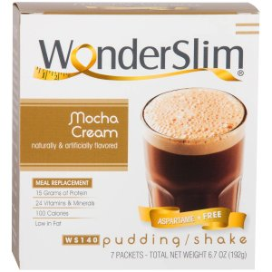 Aspartame Free Meal Replacement Protein Shake & Pudding, Mocha Cream (7ct)