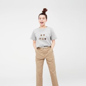 Uniqlo蘑菇力T恤