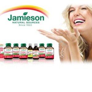 低至4.8折+新S&S用户额外85折加拿大No.1保健品牌健美生Jamieson大促