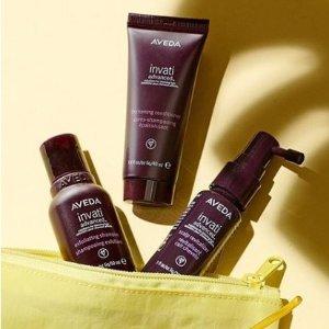 无门槛8折+免邮限今天:Aveda 精选护发、护肤及美体产品热卖
