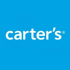 4折+额外75折 $2.24收卡通拖鞋最后一天:Carter's官网 儿童服饰 凉鞋 遮阳帽 爬服热卖