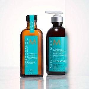 变相6折+送2小样 仅€11收Moroccanoil 摩洛哥精油史低 最佳护发产品 125ml比100ml还便宜