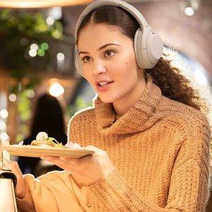 史低价:Sony WH-1000XM4 降噪耳机开放购买 支持佩戴感应 全新QN1降噪芯片