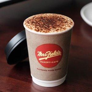 $3(原价$13.5) 3元3杯超值价Mrs.Fields 咖啡饮品券团购 全澳40+店可用