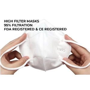 95% Filtration Face Mask (10 Masks/Pack) | Same Day Shipping from USA | Lowest Rate Guaranteed