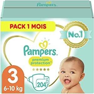 Pampers 纸尿裤3码6-10kg 204枚