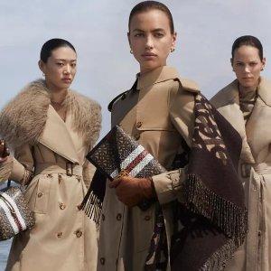 全部5折 面包羽绒服€600收Burberry官网 风衣、外套专场热卖 英伦风十足