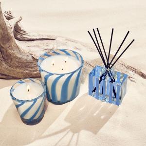 无门槛7.5折 玫瑰乌木蜡烛$54NEST 香氛热卖 海雾海盐、椰香棕榈等 尽显海滩风情
