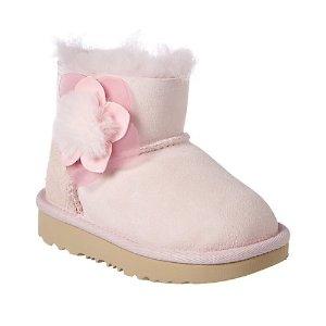 UGG粉色雪地靴