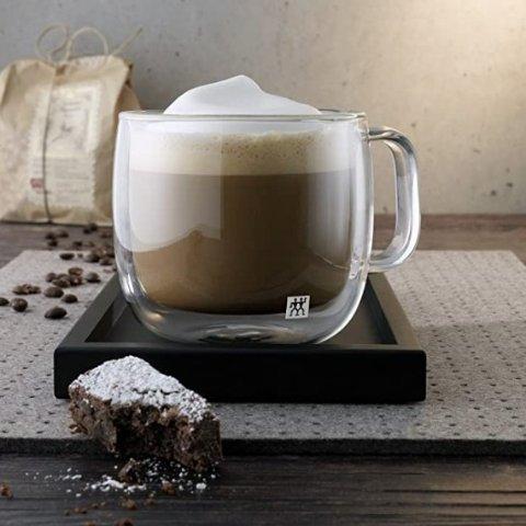 $22.99 (原价$41.99) 2只装补货:Zwilling J.A. Henckels 双立人双层隔热咖啡杯 精美好看