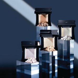 限时7.5折 定妆蜜粉仅€23即将截止:Illamasqua官网 全场彩妆热卖 收人气高光、妆前乳