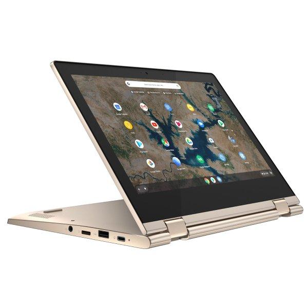 "Lenovo Chromebook Flex 3 11.6"" Touchscreen Laptop, Intel Celeron, 4GB RAM, 32GB HD, Chrome OS, Almond, 82BB0007US"