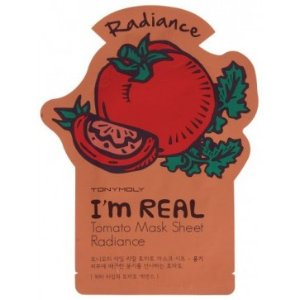 Tony Moly I'm Real Tomato Mask Sheet Radiance