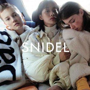 满额最高减3500日元+直邮美国超人气日系少女品牌Snidel大促热卖 变身日杂美少女