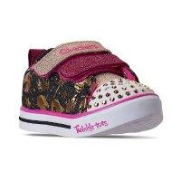 Skechers 女幼童闪灯鞋