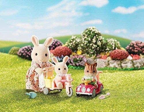 兔子和猫咪骑行游