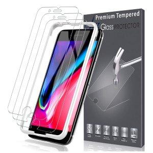 三只装低至$9.99LK iPhone 多型号钢化膜 防摔省心
