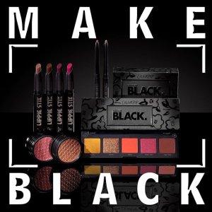"""$7起 封面眼影盘仅$10上新:Colour Pop 炫酷""""Make Black""""系列 暗黑甜美风"""