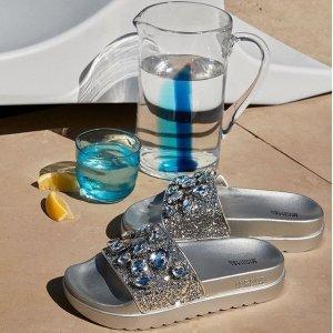 无门槛7.5折+免邮提前享:Michael Kors 美鞋上新 拖鞋$74 粉色渔夫鞋$82