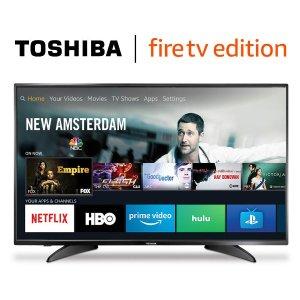 低至$99.99提前开抢:Toshiba 智能电视 Fire TV版本