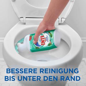 仅售€1.65 多香味可选WC Ente 全效洁厕灵 全活性凝胶 99.9%除菌 去水垢