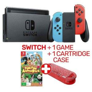 $398(原价$469) 拼手速抢!超值:Nintendo Switch掌机+一部游戏+马里奥限量盒套装热卖