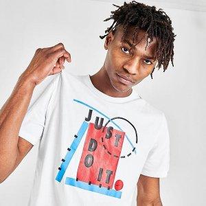 NikeMen's Nike Dri-FIT Just Do It Basketball T-Shirt
