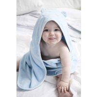 婴儿连帽浴袍