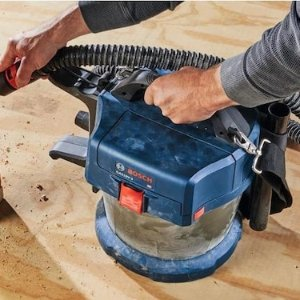 $139Bosch 2.6-Gallon Cordless Handheld Wet/Dry Shop Vacuum (Battery Not Included)