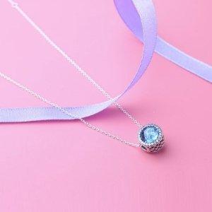 限时抢购价¥579PANDORA 海洋之心锁骨项链
