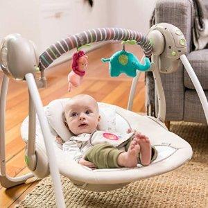 低至$30.19史低价:婴幼儿安抚椅、电动摇篮特卖,多款哄睡神器