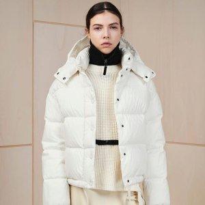 低至2.6折+至高立减$100补货:Moncler 服饰专场热卖,白色羽绒服$600+