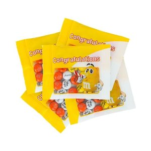 Yellow Character Congratulations Party Favor Packs | M&M'S® - mms.com