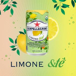 $13.35San Pellegrino Sparkling Organic Juice & Tea Blend, Limone &te, 8.45 Fl Oz, Pack of 24