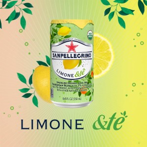 $13.35San Pellegrino Sparkling Organic Juice & Tea Blend, Limone &te, 8.45 Fl Oz, Pack of 24