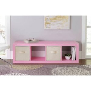 Better Homes and Gardens 4-Cube Organizer, Multiple Colors - Walmart.com