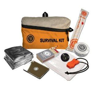 Ultimate Survival Technologies FeatherLite Survival Kit, Orange, 1.0