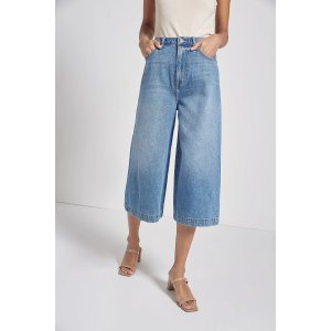 CurrentTHE FRANCES DENIM CULOTTE
