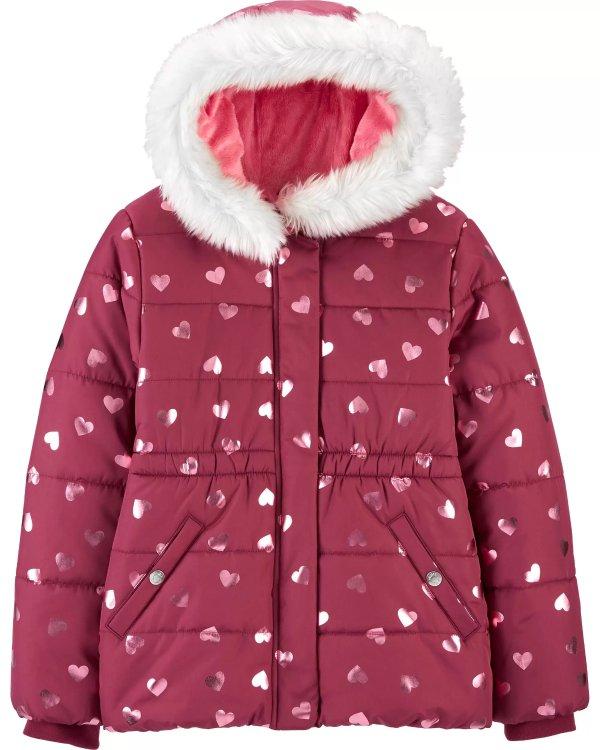 女孩保暖外套