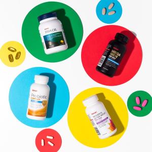 葡萄籽$9收GNC 增强免疫力维生素保健品 热销